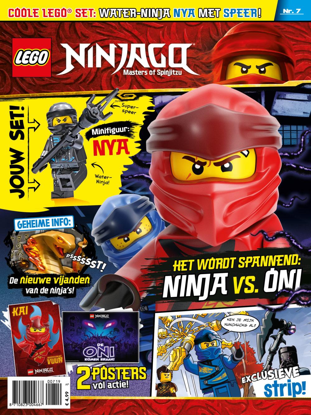 LEGO NINJAGO magazine nummer 7 2019
