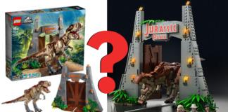LEGO T-Rex Rampage statement van LEGO