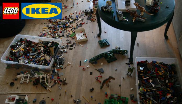 LEGO en IKEA komen met BYGGLEK