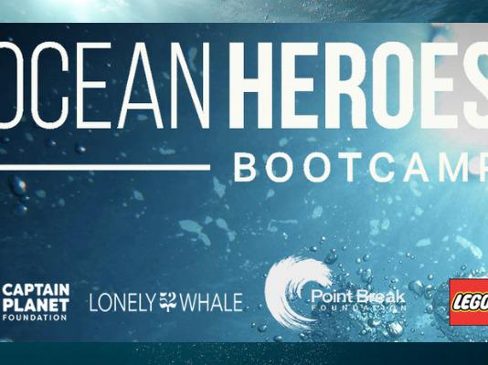 Samenwerking LEGO en Ocean Heroes Bootcamp