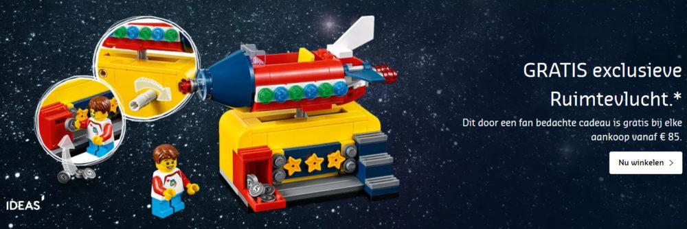 Space Rocket Ride promotie