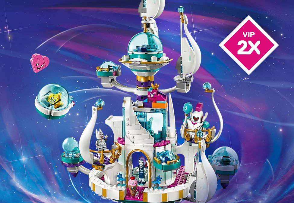 The LEGO Movie 2 Queen Watevra's 'So-Not-Evil' Space Palace