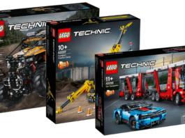 Visuals LEGO Technic 2HY 2019