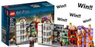 Win een LEGO 40289 Diagon Alley