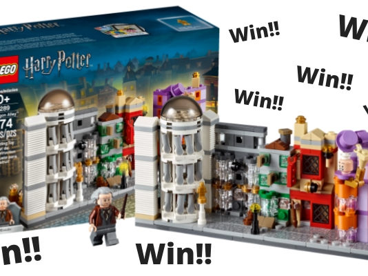 Win een LEGO 40289 Diagon Alley