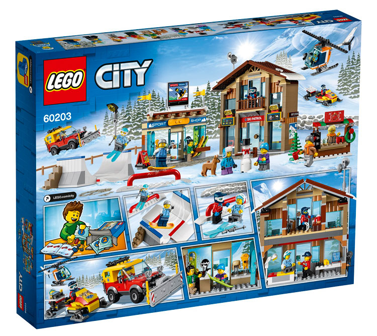 LEGO City 60203 Ski Resort