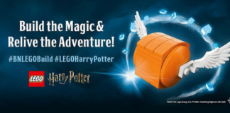 [Bouwinstructies] LEGO Harry Potter Golden Snitch