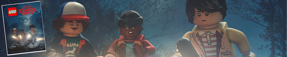 Gratis LEGO 5005956 Stranger Things poster
