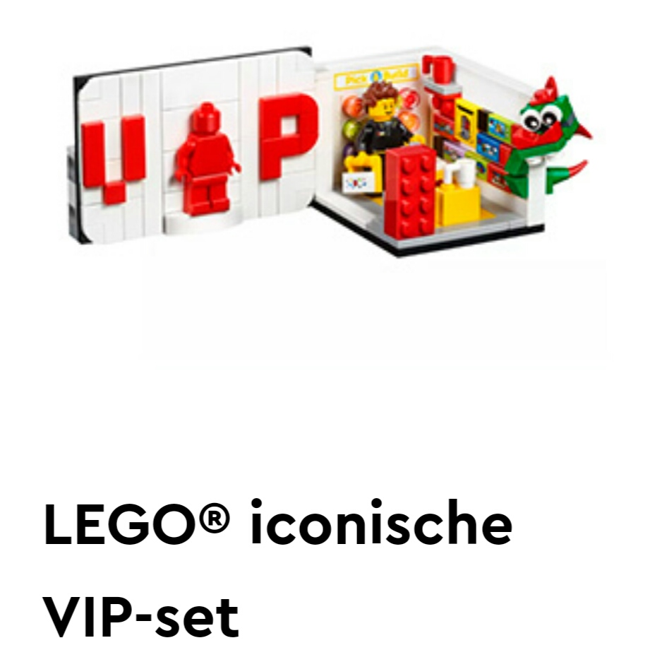 Gratis LEGO VIP set