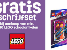 Gratis The LEGO Movie 2 schrijfset