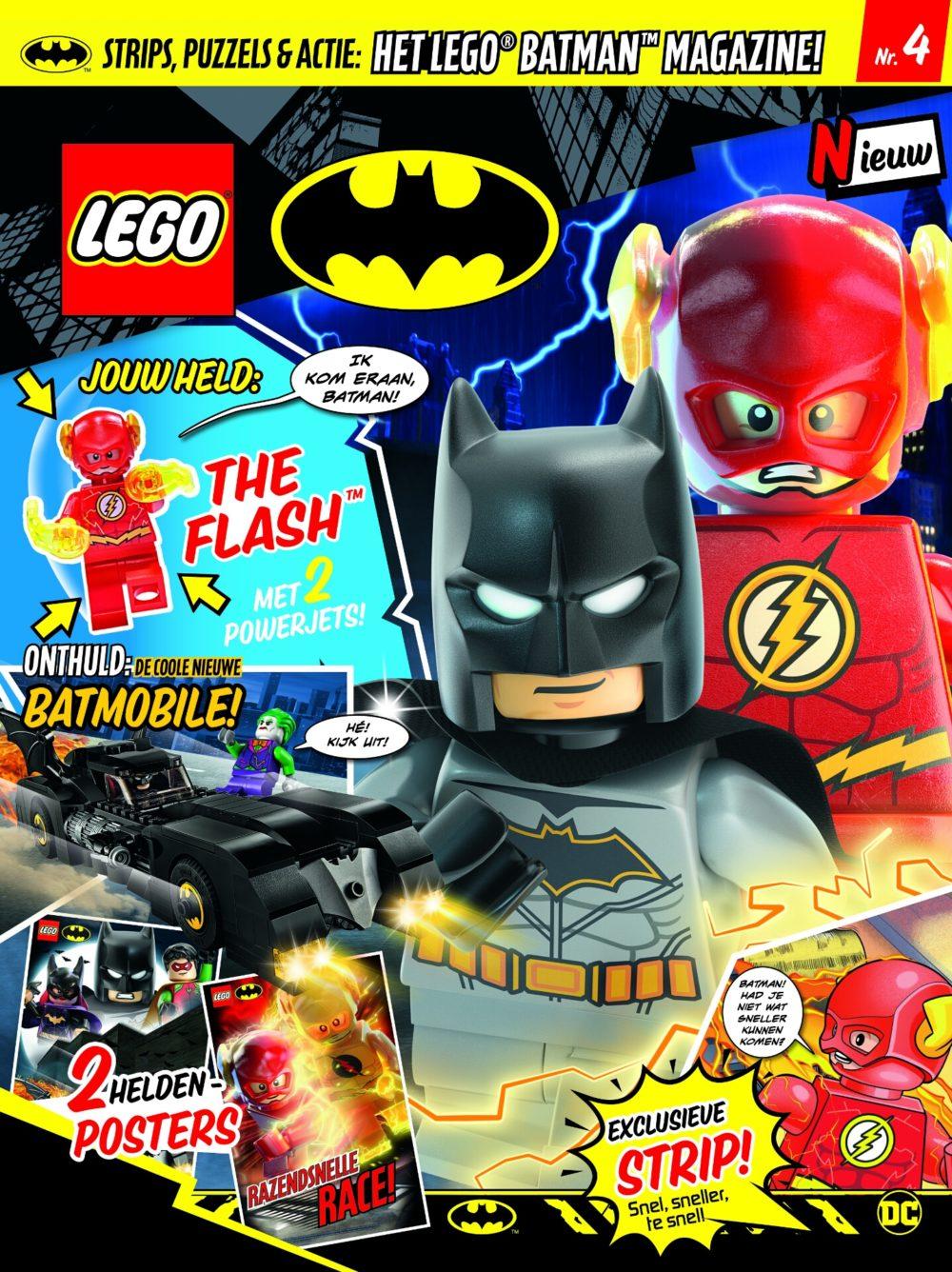 LEGO Batman magazine 4 2019