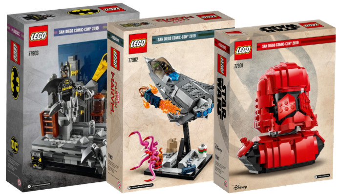 Instructies LEGO SDCC 2019 Exclusives