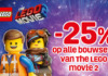 Korting op LEGO Movie 2 sets