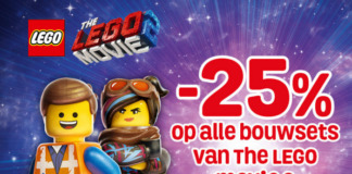 Korting op LEGO Movie 2 sets