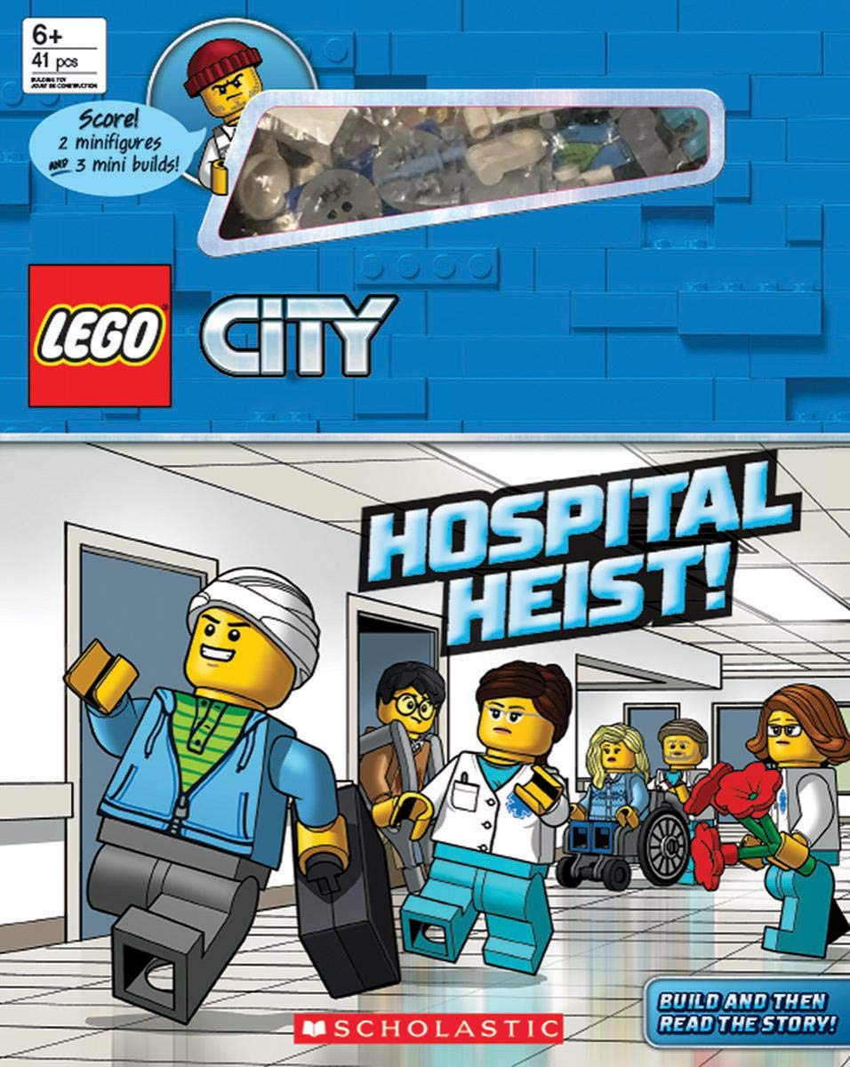LEGO City Hospital Heist!