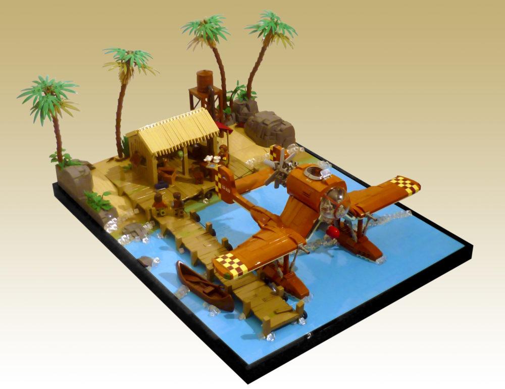 LEGO Coastal Base - Jon Hall