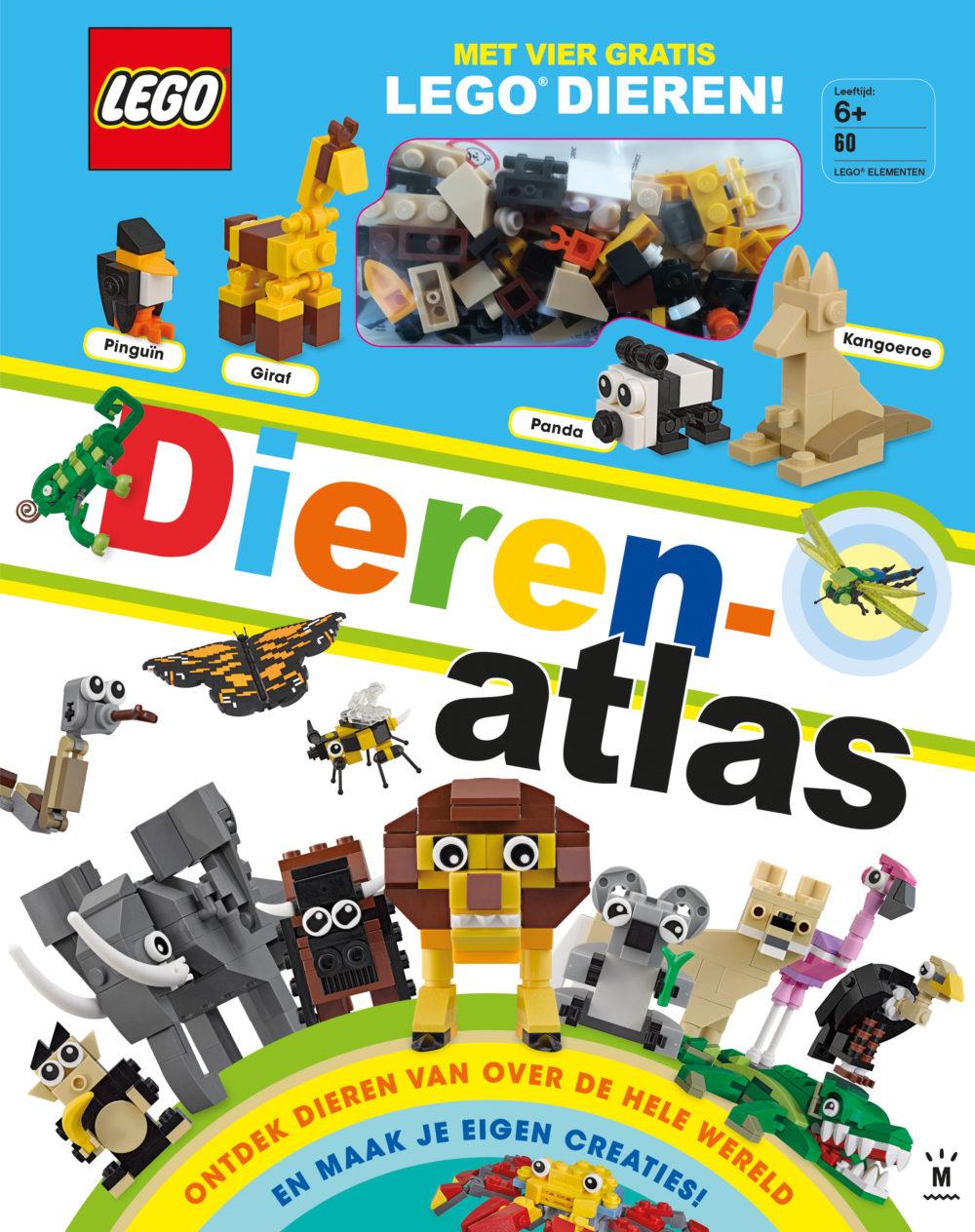 LEGO DIERENATLAS COVER HR MET STEENTJES
