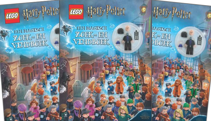 LEGO Harry Potter zoek- en vindboek