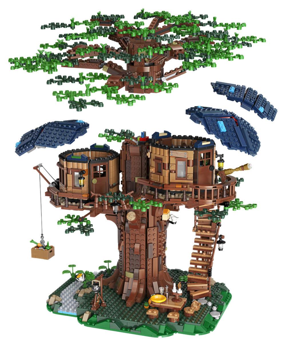 Nieuws Lego Ideas 21318 Treehouse Bouwsteentjes Info