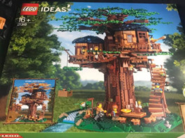 LEGO Ideas 21318 Treehouse opgedoken