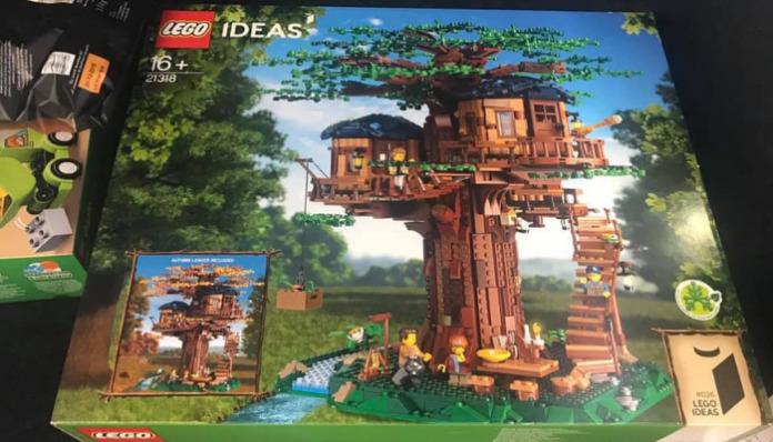 LEGO Ideas 21318 Treehouse opgedoken