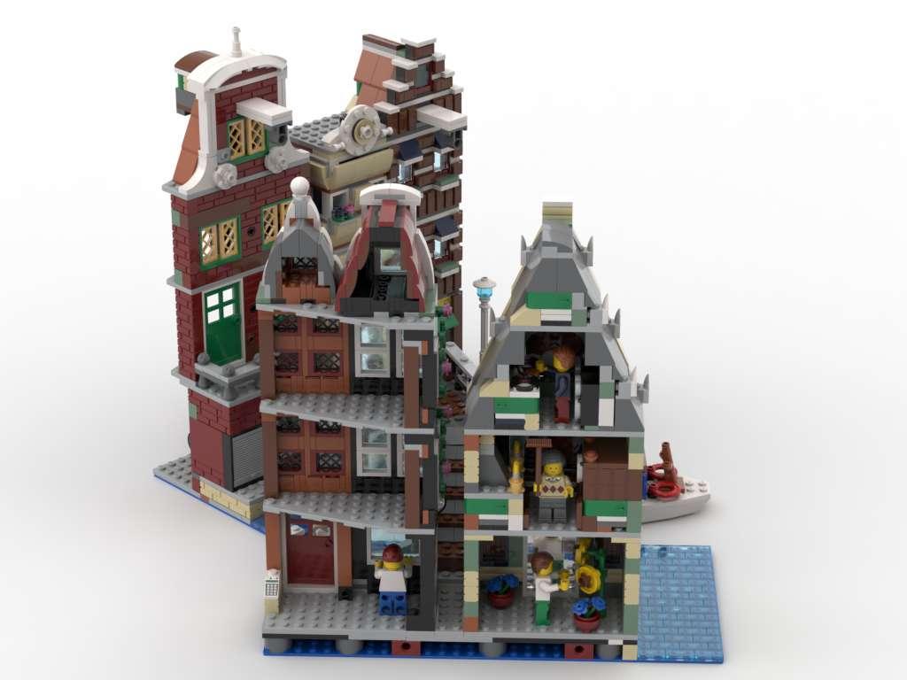 LEGO IdeasAmsterdam Canal