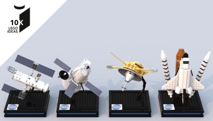 LEGO Ideas NASA Spacecraft bereikt 10K supporters