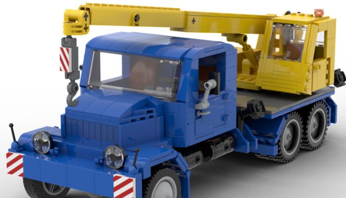 LEGO Ideas Praga V3S Crane
