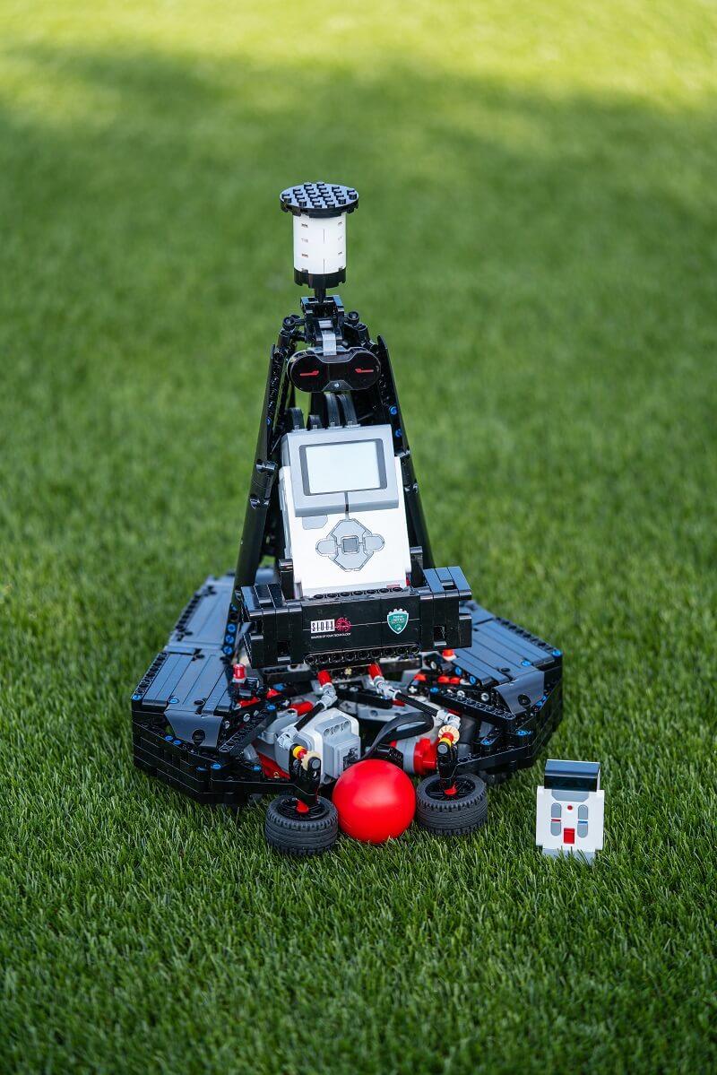 Mindstorms voetbalrobot