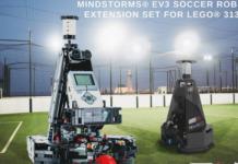 LEGO Mindstorms voetbalrobot uitbreidingsset