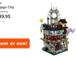 LEGO Ninjago City voor €249,95