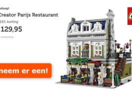 LEGO Parisian Restaurant voor €129,95