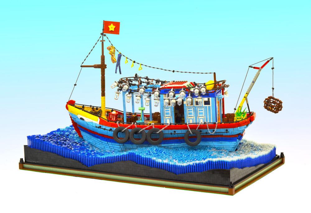 LEGO Squid Fishing - Know your bricks