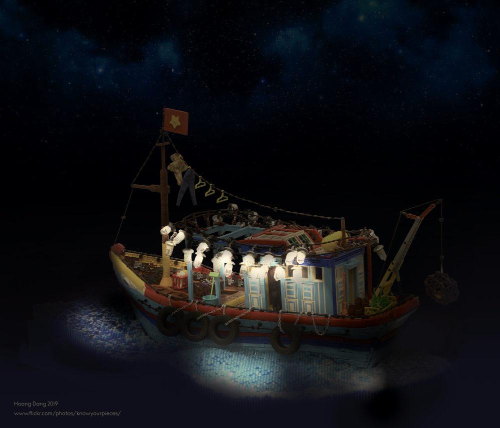 LEGO Squid Fishing - Know your bricks (1)