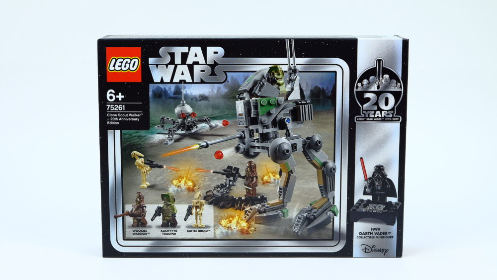 LEGO Star Wars 75261Clone Scout Walker - 20th Anniversary Edition
