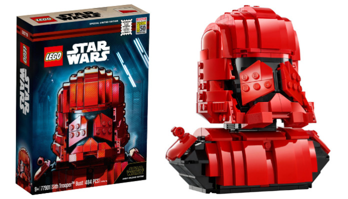 LEGO Star Wars 77901 Sith Trooper Buste