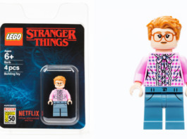 LEGO Stranger Things Barb SDCC Exclusive Minifigure