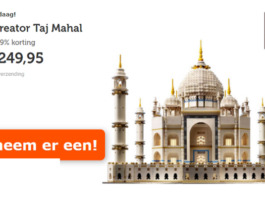 LEGO Taj Mahal voor €249,95