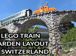 LEGO Train Garden Railway Lay-out