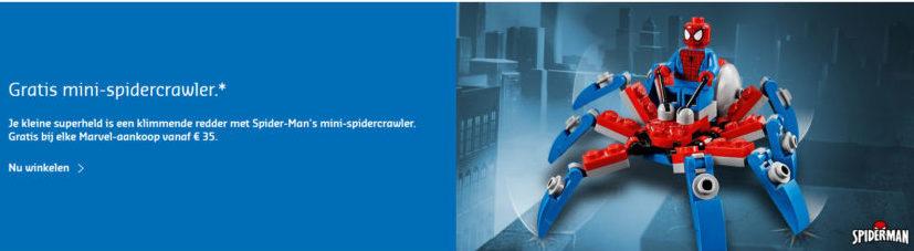 LEGO Marvel Mini Spider-Crawler promotie
