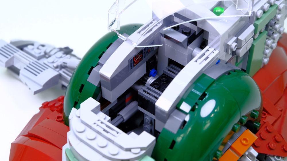 Slave I cockpit