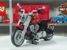 Designer Video LEGO Harley-Davidson Fat Boy