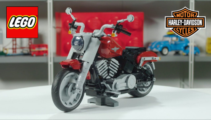 Designer Video LEGO Harley-Davidson Fat Boy