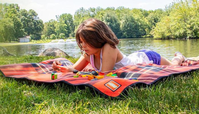 Gratis LEGO 5006016 Picknickdeken