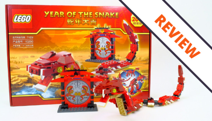 LEGO 10250 Year of the Snake