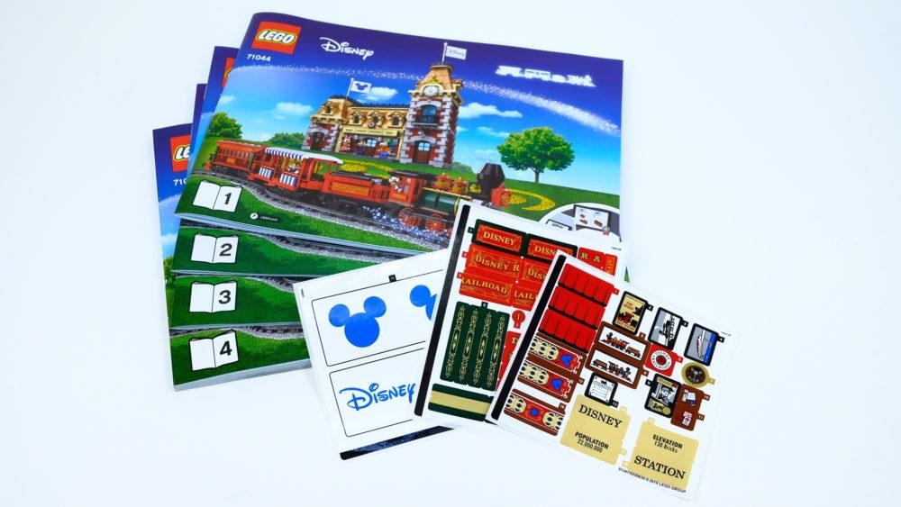 Instructieboekjes LEGO 71044