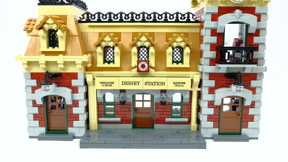 LEGO 71044 Station voorkant