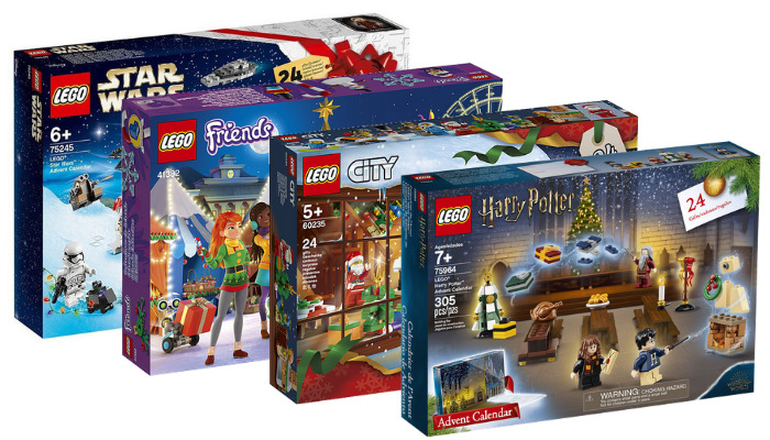 LEGO Advent Calendars 2019