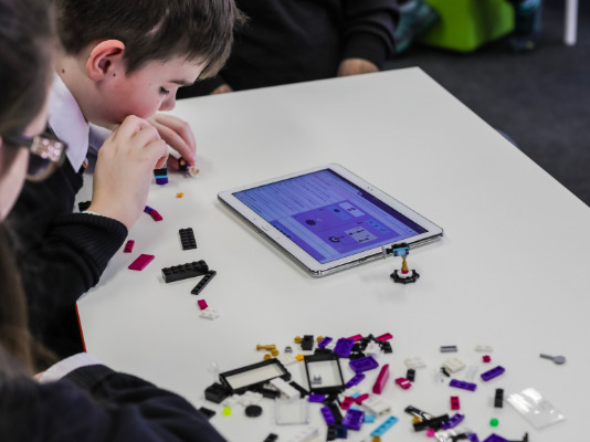 LEGO Audio & Braille Instructions