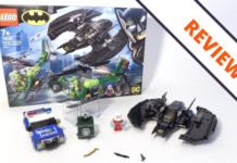 LEGO DC Super Heroes 76120 Batman Batwing and the Riddler Heist